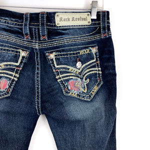 Rock Revival Raven Straight Stretch Jeans